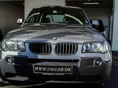 usata BMW X3 3,0 D Steptr. Van