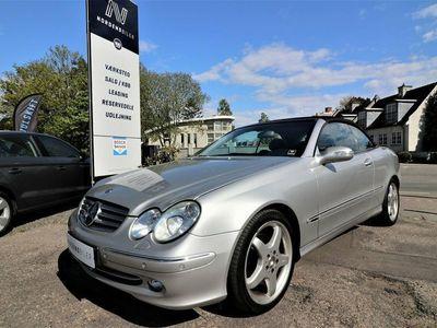 käytetty Mercedes CLK320 3,2 Cabriolet Elegance aut.