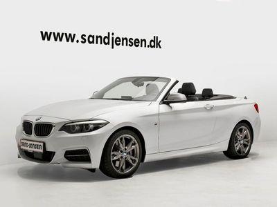 usado BMW M240 3,0 Cabriolet aut.