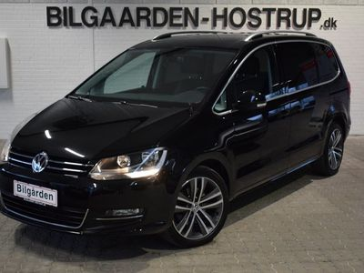 brugt VW Sharan 2,0 TDi 150 Highline DSG Van