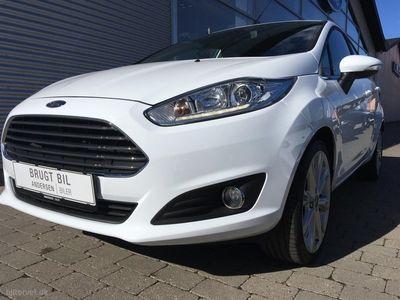 usado Ford Fiesta 1,0 EcoBoost Titanium Start/Stop 125HK 3d