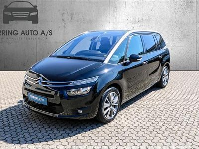brugt Citroën Grand C4 Picasso 2,0 Blue HDi Intensive start/stop 150HK 6g - Personbil - sort - 7 pers.
