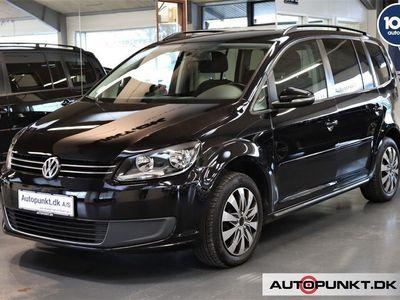 brugt VW Touran 1,6 TDi 105 Comfortline DSG BMT 7p