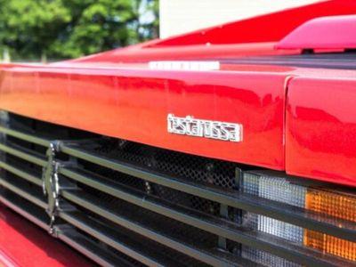 brugt Ferrari Testarossa V12 Coupe