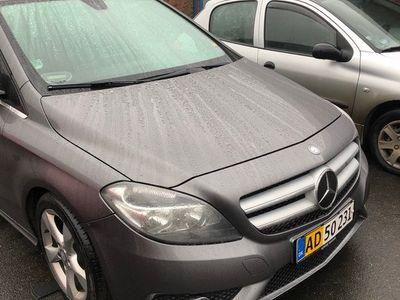 brugt Mercedes B200 Van