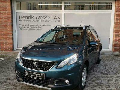 brugt Peugeot 2008 1,6 BlueHDi Allure Sky 100HK A++