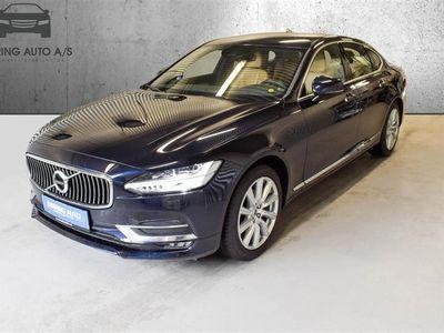 brugt Volvo S90 2,0 D4 Inscription 190HK 8g Aut. - Personbil - mørkblåmetal