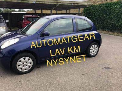 brugt Nissan Micra 1,2 AUTOMATGEAR