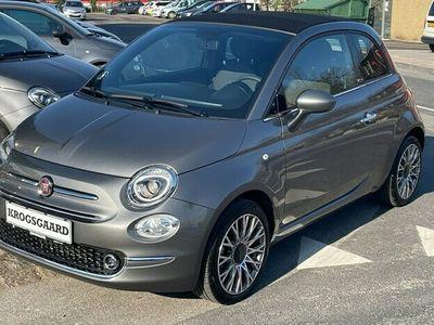 brugt Fiat 500C 10 Mild hybrid Star Plus 70HK Cabr. 6g