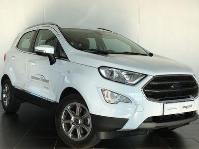 gebraucht Ford Ecosport 1,0 EcoBoost Titanium Start/Stop 125HK 5d 6g Aut.