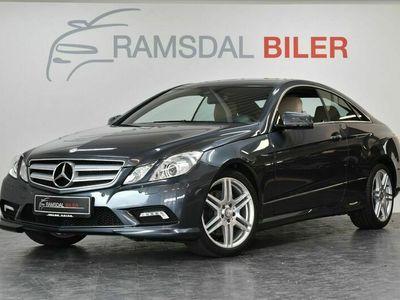 brugt Mercedes E350 0 CDi AMG Line Coupé aut. BE