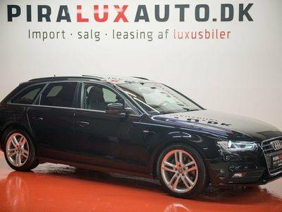 brugt Audi A4 3,0 TDi 204 S-line Avant Multitr.