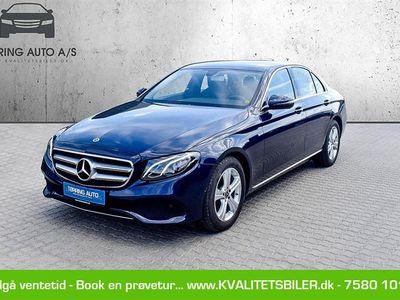 brugt Mercedes E220 2,0 D Business 9G-Tronic 194HK 9g Aut. - Personbil - Mørkeblåmetal