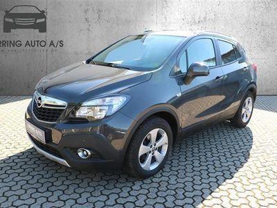 brugt Opel Mokka 1,6 CDTI Enjoy Start/Stop 136HK 5d 6g - Personbil - gråmetal
