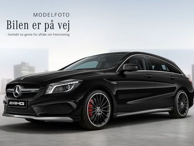brugt Mercedes CLA45 AMG 2,0 AMG SB aut. 4-M