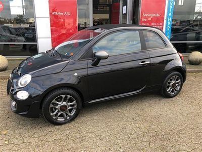 brugt Fiat 500C 0,9 TwinAir Sportiva Start & Stop 80HK Cabr.