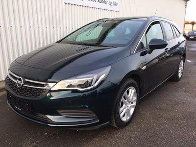 brugt Opel Astra 1,6 CDTI Enjoy Start/Stop 110HK Stc 6g