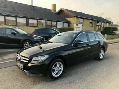 brugt Mercedes C200 1,6 BlueTEC Business stc. aut.