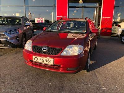 brugt Toyota Corolla 1,4 Linea Terra 97HK Stc