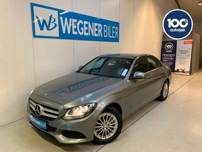 brugt Mercedes C220 d 2,2 aut.