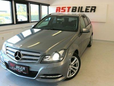 brugt Mercedes C220 2,2 CDi Avantgarde stc. aut. BE