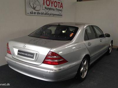 brugt Mercedes S500 5,0 306HK Aut.