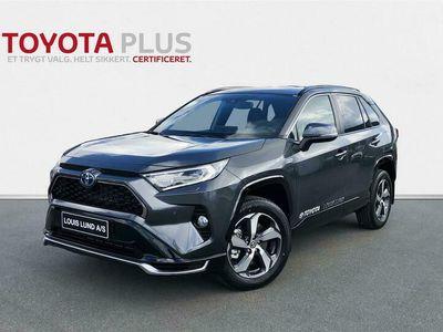 brugt Toyota RAV4 Plug-in 2,5 Plugin-hybrid H3 Comfort AWD 306HK 5d 6g Aut. A+++