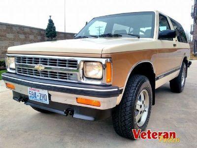 Chevrolet Blazer Brugt 2 Til Salg Autouncle