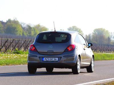 brugt Opel Corsa 1,4 ECOTEC Impress 90HK 5d - Personbil - Blåmetal