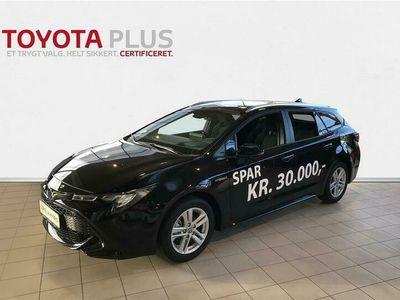 brugt Toyota Corolla Touring Sports 1,8 B/EL H3 Smart Safety Plus E-CVT 122HK Stc