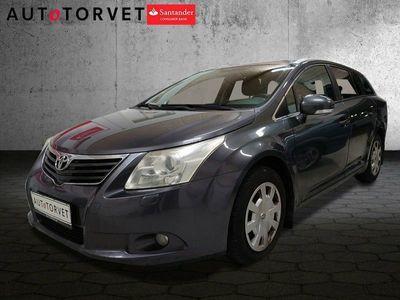 brugt Toyota Avensis 1,6 VVT-i T2 stc.