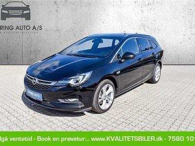 brugt Opel Astra Sports Tourer 1,6 CDTI Dynamic 136HK Stc 6g Aut. - Personbil - sortmetal