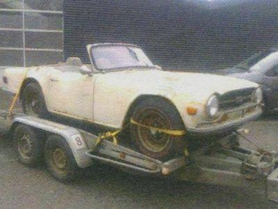brugt Triumph TR6 Triumph TR6