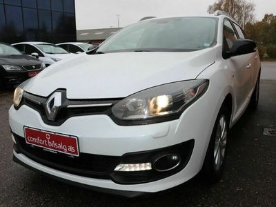brugt Renault Mégane III 1,5 dCi 110 Limited Edition ST