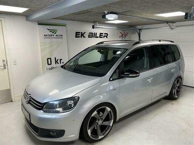 brugt VW Touran 1,6 blueMotion TDI Match 105HK 7g Aut.