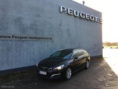 brugt Peugeot 508 2,0 BlueHDi Allure 150HK Stc 6g
