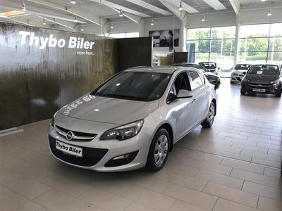 brugt Opel Astra 1,4 Twinport Limited Start/Stop 100HK 5d