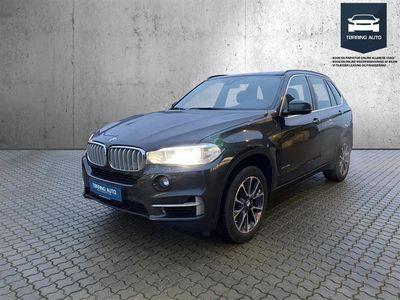 brugt BMW X5 40e 2,0 B/EL XDrive 313HK 5d 8g Aut. - Personbil - Mørkgrå