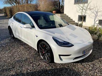 brugt Tesla Model 3 Performance