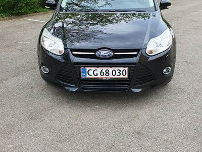 brugt Ford Focus EcoBoost (125 HK) Stationcar Forhjulstræk Manuel 1,0