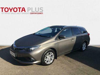 brugt Toyota Auris Touring Sports 1,8 Hybrid H2 Comfort 136HK Stc Aut.