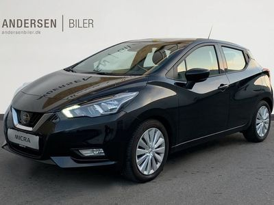 brugt Nissan Micra 1,0 IG-T Acenta Start/Stop 100HK 5d
