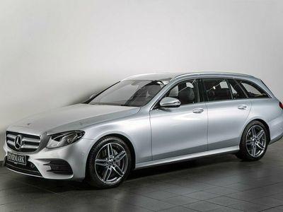 brugt Mercedes E220 2,0 AMG Line stc. aut.