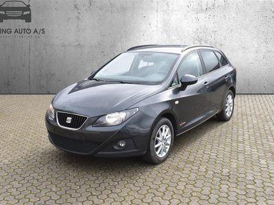 brugt Seat Ibiza 1,6 Commonrail TDI DPF Style 90HK Stc - Personbil - Koksmetal