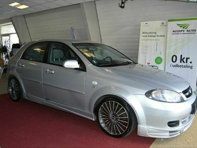 brugt Chevrolet Lacetti SX