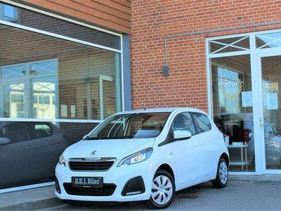brugt Peugeot 108 1,0 e-Vti Active 69HK 5d A++