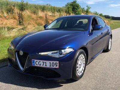 brugt Alfa Romeo Giulia 2,2 D Edizione 180HK 8g Aut.