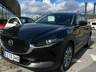brugt Mazda CX-30 20 Skyactiv-G Mild hybrid Sky m. Style Pack 150HK 5d 6g Aut.