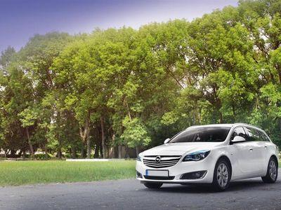 brugt Opel Insignia Sports Tourer 1,6 CDTI Cosmo 136HK Stc 6g Aut. - Personbil - Hvid