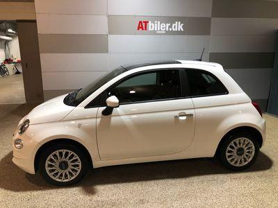 brugt Fiat 500 1,0 B/EL Lounge Plus 70HK 3d 6g A++